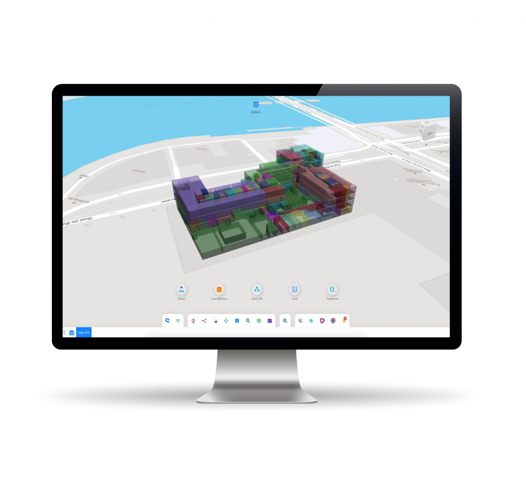 Teia features 3D visualization