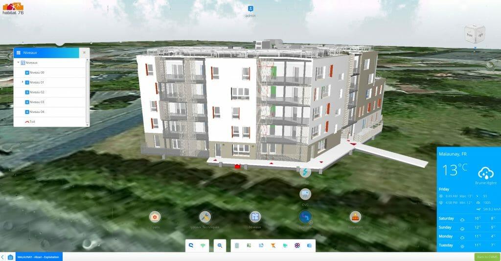 Teia software Habitat76