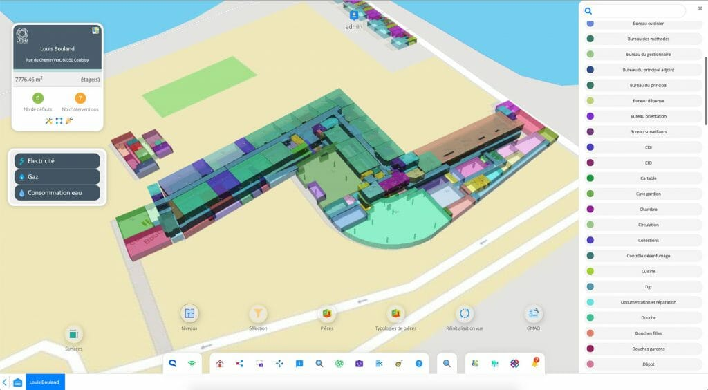 Teia software Oise college