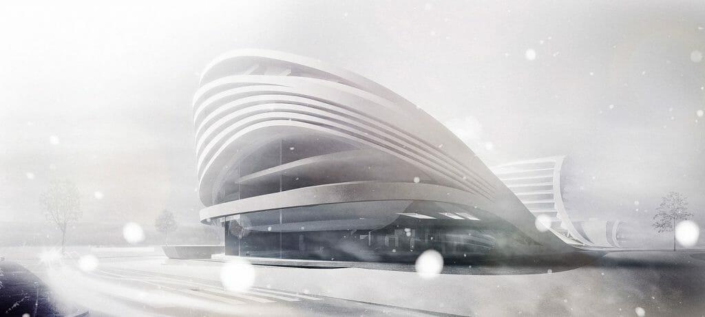 Perspective 3D Zaha Hadid Architects