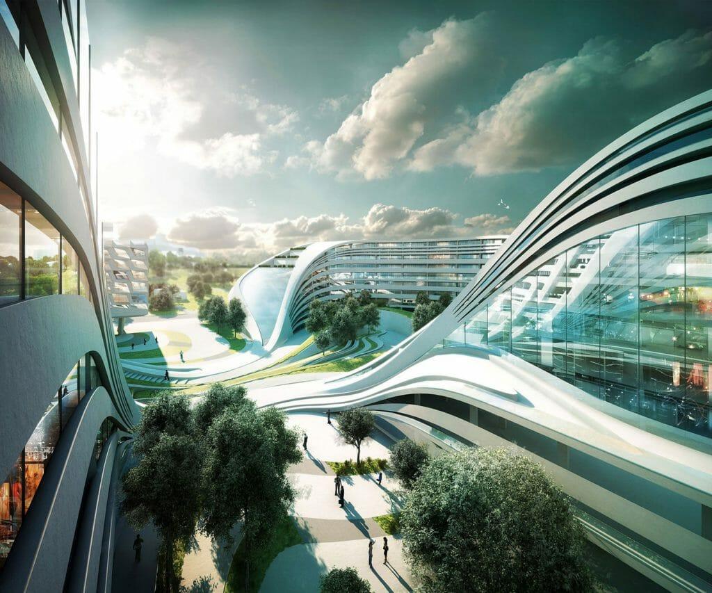 Perspective Zaha Hadid Architects
